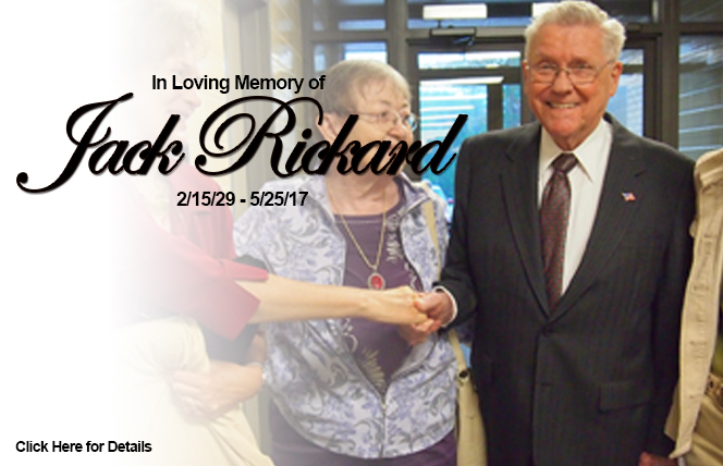 In Loving Memory of Jack Rickard